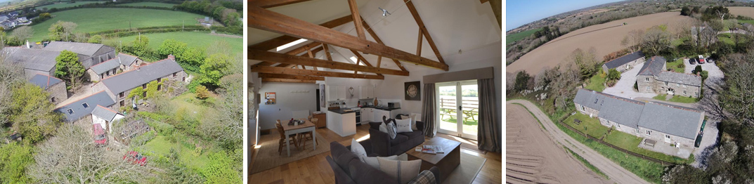 Holiday Complexes, Guest Houses and B&B's in Cornwall